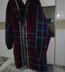 h&m premium vuneni tvid kaput zimski S/36