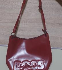 Dogs by Beluchi crvena kozna torba