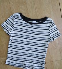Calliope majica na prugice rebrasta S