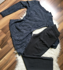 Hm pantalone nove/Vero moda bluza oboje 1000din