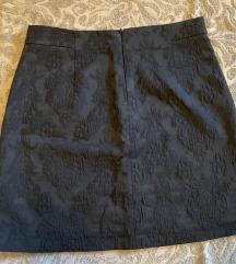 Zara teget mini suknja%%%%