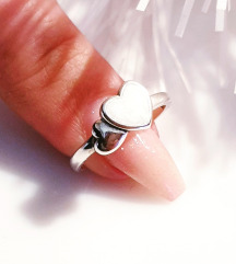 Pandora Srebrni prsten 16mm.
