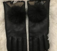 Nove H&M kozne rukavice