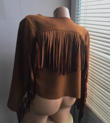 Prolećna jakna sa resama