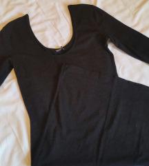 Crna pamucna haljinica