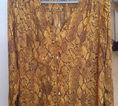 Hm atraktivna bluza zmijski print