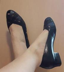 MEDICUS  crne kozne cipele sandalete