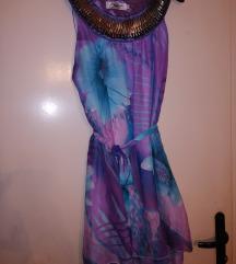 Ljubicasta haljina egipatski stil sada 700
