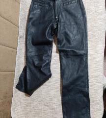AKCIJA 2000👑 Kožne pantalone (prava koža) 🖤
