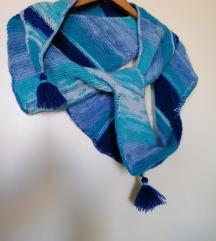 Neobican Handmade plavi sal NOVO