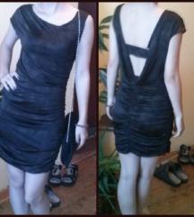 Amisu svecana haljina golih ledja-jednom nosena