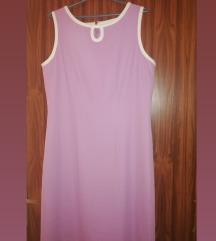 Elegantna violet haljina