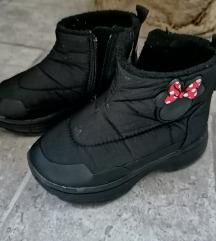 Cipele, cizme za devojcice br. 21