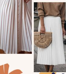 Bez plisirana suknja