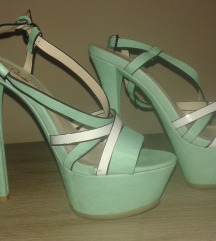 Mint zelene sandale