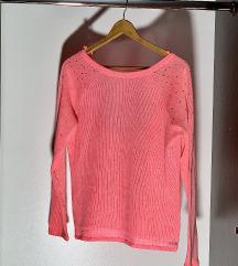 Pink VS džemperčić sa cirkonima