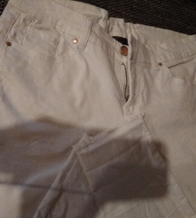 Bele skinny pantalone C&A