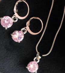 Nov set za poklon ogrlica i mindjuse