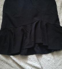 Mermaid crna suknja