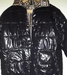 Crna jaknica sa printom