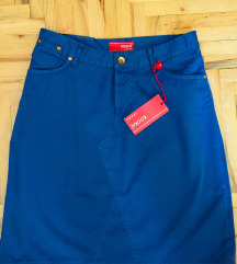 Kookai  jeans / kraljevsko plava suknja🌈