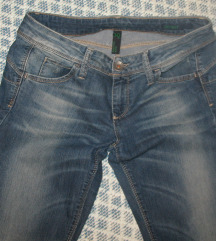 Benetton skinny jeans, 30