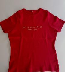 Crvena MONACO majica S/M