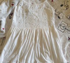Zara haljina bela + poklon Burberry parfem i Aura