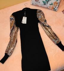 Haljina crna nova sa etiketom