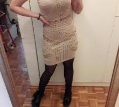 Snizena Krem haljinica🧚♀️🧚♀️🧚♀️
