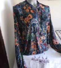 Viskozna cvetna jaknica M/L