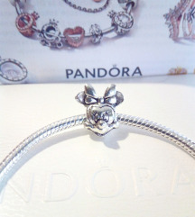 Pandora narukvica Minnie mouse, S925 ALE, NOVO