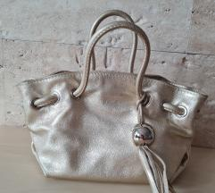 Furla platinasta torbica