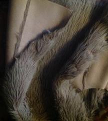 Krzneni prsluk , prevrnuta koza