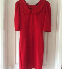 ASOS crvena koktel haljina