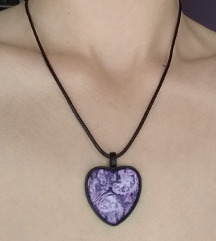 Ogrlica/medaljon srce (LJ)