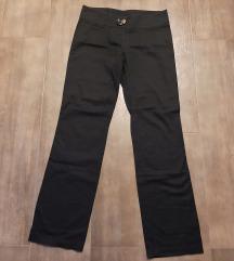 Crne italijanske pantalone, 42, NOVO