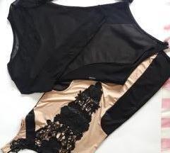 Svecana haljina i bluza/bodi