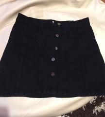 Zara teksas suknja