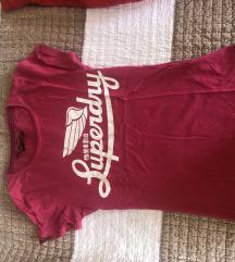 Superdry majica roze