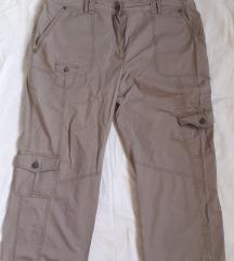 Sivkasto braon c&a pantalone 46