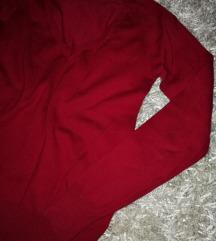 Zara   zagasito crveni dzemper