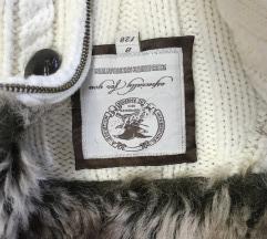 Dzemper- jaknica s krznom