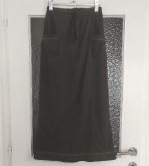 Siva suknja M