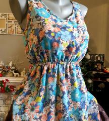 Nova cvetna haljina XS