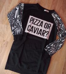 Pizza or caviar?