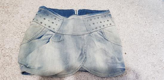 Teksas suknja Bershka