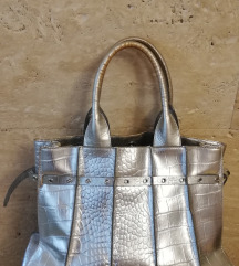 Coccinelle srebrna torba