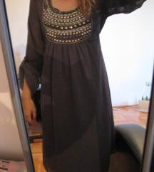 ♫ ♪ ♫ RICCOVERO postavljena haljina ♫ ♪ ♫ NOVO