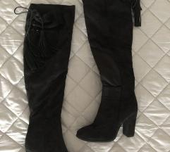 Duge crne čizme